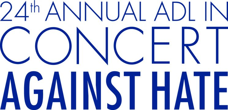 Logo from the 24th Annual ADL in Concert Against Hate event